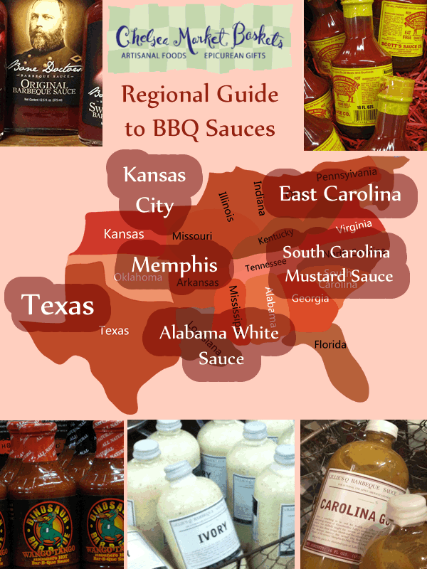 Bbq Sauces by Region Regional Guide to Bbq Sauces