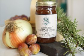 Sallie's Greatest Fig Sweet Onion and Rosemary Jam