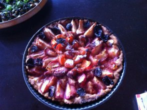 David's Stone Fruit Kuchen