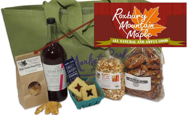 Markets of New York featuring NYC farmer market finds including Roxbury Mountain Maple's Peanut Brittle