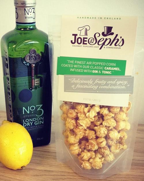 Joe & Seph's Gin & Tonic Popcorn